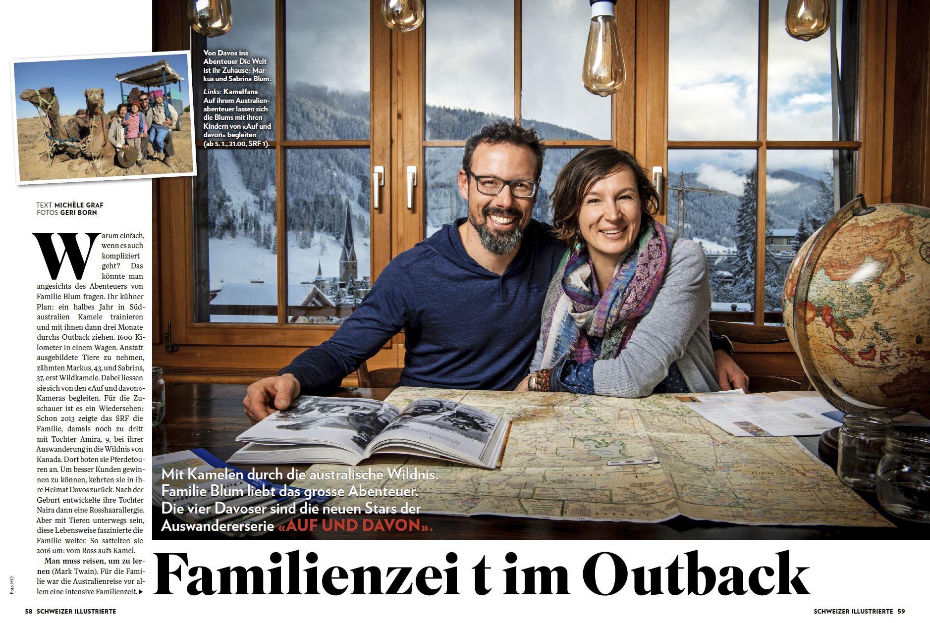 Schweizer Illustrierte Blum Und Weg
